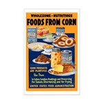 Foods from Corn Mini Poster Print