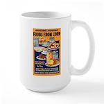 Foods from Corn Large Mug