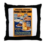 Foods from Corn Throw Pillow