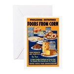 Foods from Corn Greeting Cards (Pk of 10)