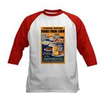 Foods from Corn (Front) Kids Baseball Jersey