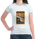 Foods from Corn (Front) Jr. Ringer T-Shirt