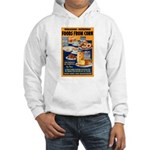 Foods from Corn (Front) Hooded Sweatshirt
