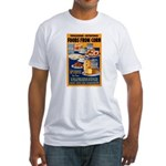 Foods from Corn (Front) Fitted T-Shirt