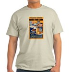 Foods from Corn (Front) Light T-Shirt
