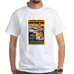 Foods from Corn White T-Shirt