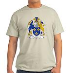 Burrows Family Crest Light T-Shirt