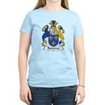 Burrows Family Crest Women's Light T-Shirt