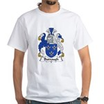 Burrough Family Crest White T-Shirt