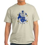 Burrough Family Crest Light T-Shirt