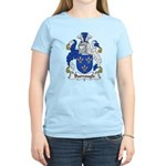 Burrough Family Crest Women's Light T-Shirt