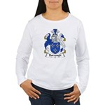 Burrough Family Crest Women's Long Sleeve T-Shirt