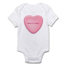 Heart to Heart  candy heart Infant Bodysuit
