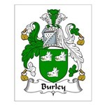 Burley Family Crest Small Poster
