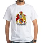 Buckingham Family Crest White T-Shirt