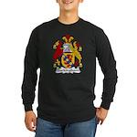 Buckingham Family Crest Long Sleeve Dark T-Shirt