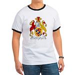 Buckingham Family Crest Ringer T