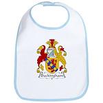 Buckingham Family Crest Bib