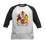 Buckingham Family Crest Kids Baseball Jersey