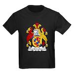 Buckingham Family Crest Kids Dark T-Shirt