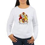 Buckingham Family Crest Women's Long Sleeve T-Shir