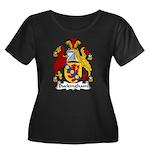 Buckingham Family Crest Women's Plus Size Scoop Ne