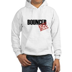 Off Duty Bouncer Hooded Sweatshirt