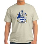 Browning Family Crest  Light T-Shirt