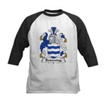 Browning Family Crest  Kids Baseball Jersey