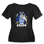 Browning Family Crest  Women's Plus Size Scoop Nec