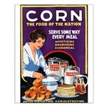 Corn Food of the Nation Small Poster