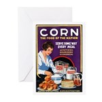 Corn Food of the Nation Greeting Cards (Pk of 10)