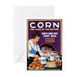 Corn Food of the Nation Greeting Card