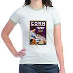 Corn Food of the Nation Jr. Ringer T-Shirt