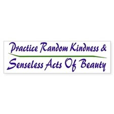 Beauty Bumper Bumper Sticker