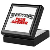 &quot;The World's Greatest Pear Grower&quot; Keepsake Box