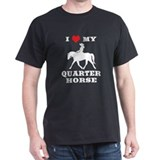 I Heart My Quarter Horse  T-Shirt