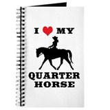 I Heart My Quarter Horse Journal