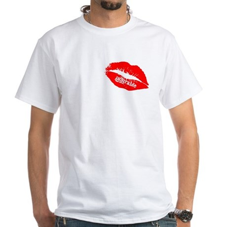 Be DESIrable White T-Shirt