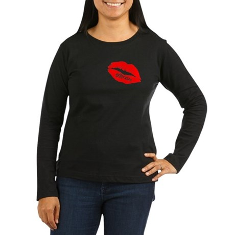 Be DESIrable Women's Long Sleeve Dark T-Shirt