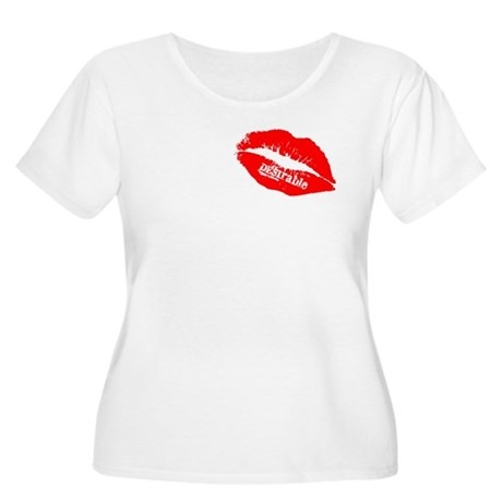 Be DESIrable Women's Plus Size Scoop Neck T-Shirt