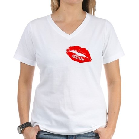 Be DESIrable Women's V-Neck T-Shirt