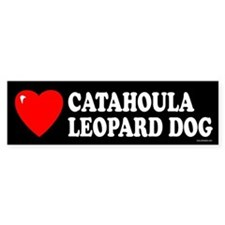 CATAHOULA LEOPARD DOG Bumper Bumper Sticker