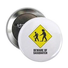 Beware of Sasquatch Button