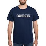 Feel Safe with a Lifeguard Dark T-Shirt