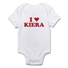 I LOVE KIERA Infant Bodysuit