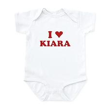 I LOVE KIARA Infant Bodysuit