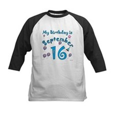 September 16th Birthday Tee