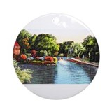 City Park Lagoon Ornament (Round)