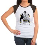 Bristow Family Crest  Women's Cap Sleeve T-Shirt